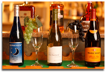Enjoy Uncle Charlie's Bistro and their large selection of wine.